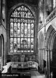 Abbey, The North Window c.1960, Selby