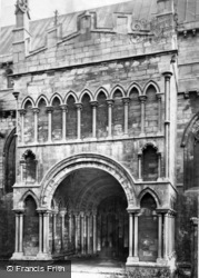 Abbey, The Porch c.1869, Selby