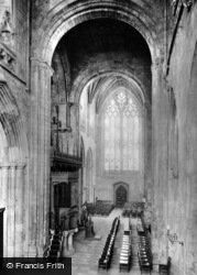 Selby, Abbey, The South Transept 1913