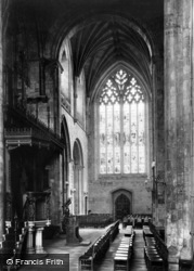 Abbey, The South Transept 1913, Selby
