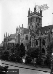 Abbey, The Tower And South Transept 1913, Selby