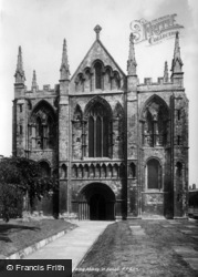Selby, Abbey, The West Front 1901