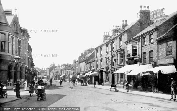Selby, Gowthorpe 1901