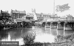 Old Toll Bridge 1918, Selby