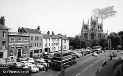 The Abbey And Market Place c.1960, Selby