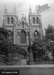The Abbey c.1950, Selby