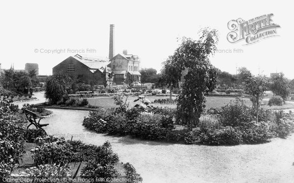 Photo of Selby, The Park And Baths 1901