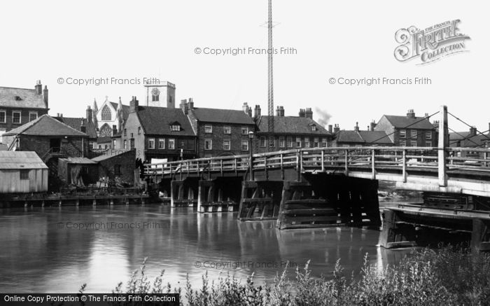 Photo of Selby, the Toll Bridge 1901