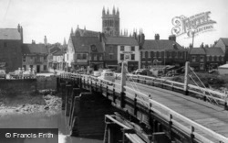 The Toll Bridge c.1960, Selby