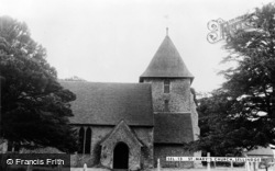 Sellindge, St Mary's Church c.1960