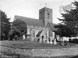 Selling, St Mary The Virgin Church c.1955