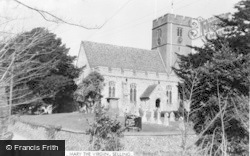 Selling, St Mary The Virgin Church c.1960