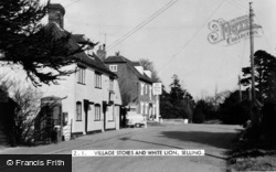 Selling, The Village Stores And White Lion c.1960