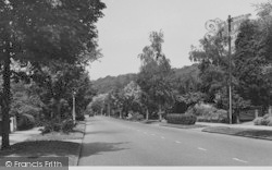 Selsdon, Croham Valley Road c.1955