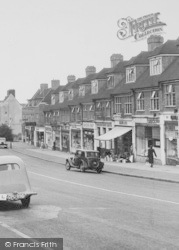 Selsdon, Shops On Addington Road c.1955