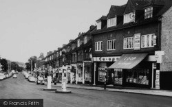 Selsdon, Shops On Addington Road c.1965