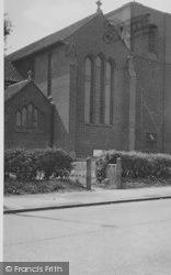 Selsdon, St John's Church c.1955