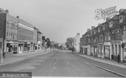 Selsdon, The Broadway c.1955
