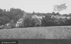 Selsdon, View From Greenhill Way c.1955