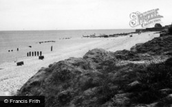 Selsey, Beach And Foreshore 1947