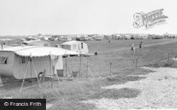 Selsey, Caravan Park, Medmerry, Mill Lane c.1955