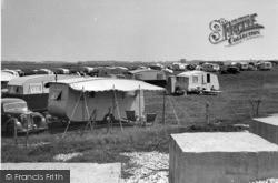 Selsey, Caravan Park, Mill Lane c.1955