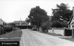 Selsey, Clayton Road c.1955
