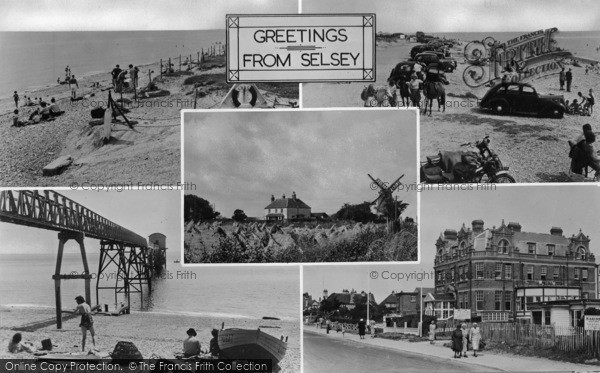 Photo of Selsey, Composite c.1950