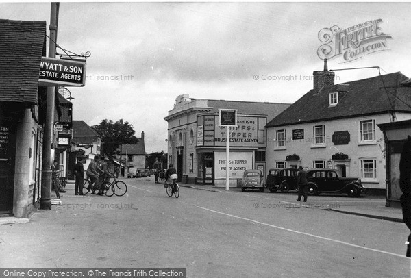 Photo of Selsey, Crown Hotel, High Street c.1950