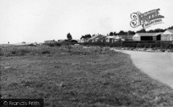 Selsey, East Beach Bungalows c.1955