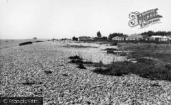 Selsey, East Beach c.1955