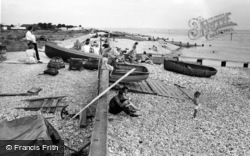 Selsey, East Beach c.1960