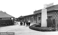 Selsey, Entrance To Broadreeds Holiday Camp c.1960