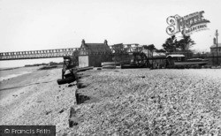 Selsey, Fishermans Beach c.1955