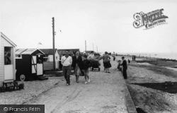 Selsey, Fishermans Beach c.1960