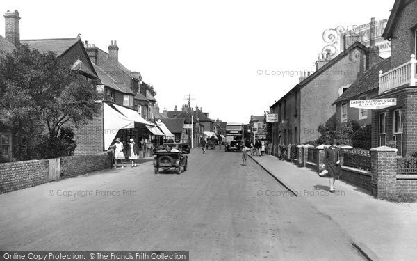 Photo of Selsey, High Street 1930