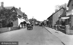 Selsey, High Street 1930