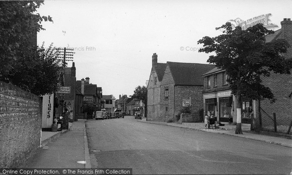 Photo of Selsey, High Street c.1950
