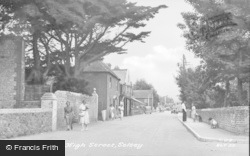 Selsey, High Street c.1955