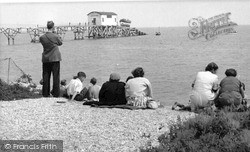 Selsey, Launching Of The Lifeboat c.1955