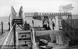 Selsey, Lifeboat Gangway c.1960