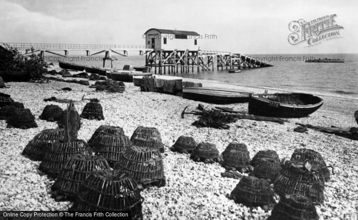 Photo of Selsey, Lifeboat House 1930
