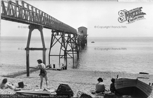 Photo of Selsey, Lifeboat House c.1955