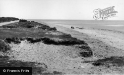 Selsey, Main Beach c.1955