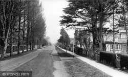 Selsey, Manor Road c.1955