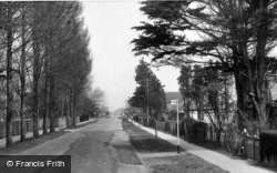 Selsey, Manor Road c.1960