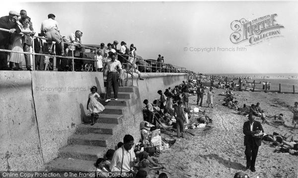 Photo of Selsey, Marine Beach c.1955