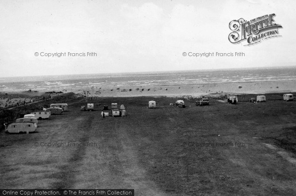 Photo of Selsey, Medmerry Camp c.1950