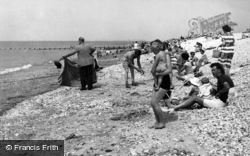 Selsey, Mill Beach c.1955