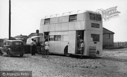 Selsey, Mill Farm Mobile Shop c.1960